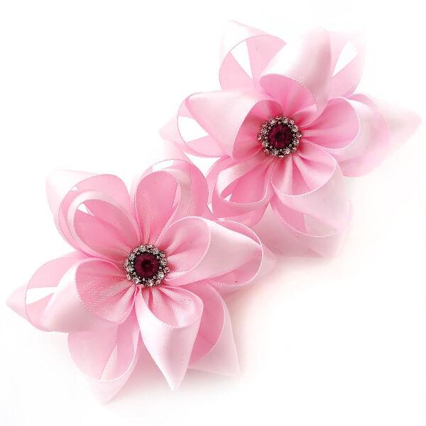 Бант для волос Тутси розовый