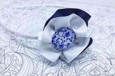 Ободок синий