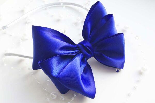 Ободок Элика синий