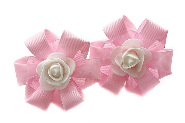 Бант Искренность розовый