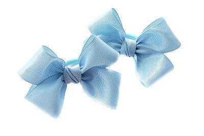 Бант для волос Александра голубой