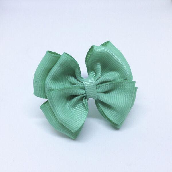 Детский бантик Воображуля зеленый