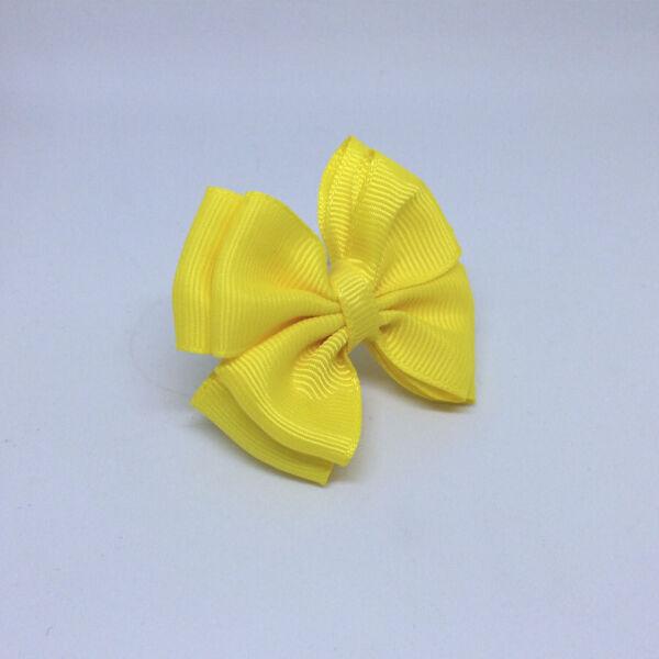 Детский бантик Воображуля желтый