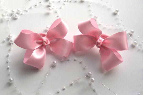 Бант для девочек Изящность розовый
