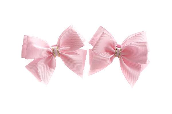 Бантик для волос Маруся розовый